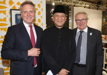 Malaysia Minister with RB and GL