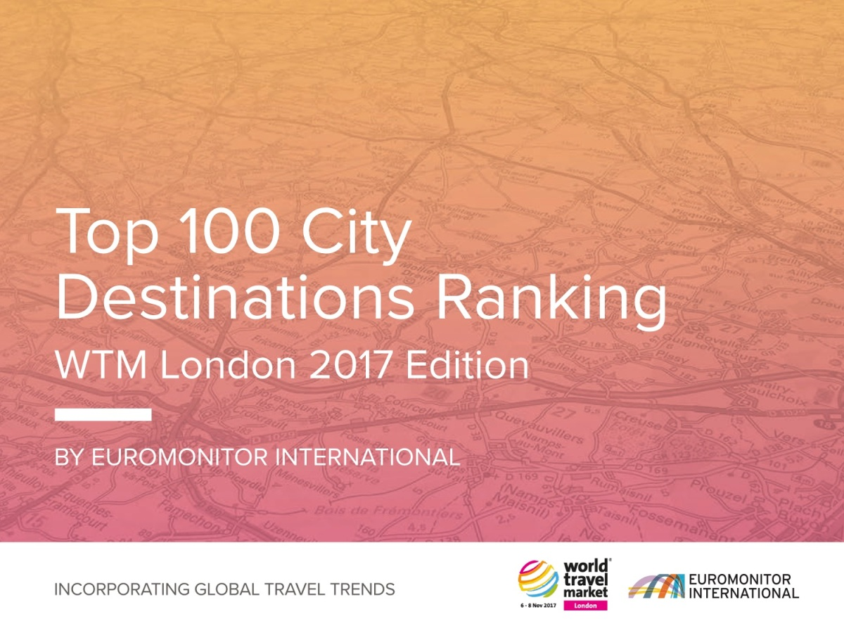Top 100 cities destinations ranking hotel and tourism online for Top 100 hotels